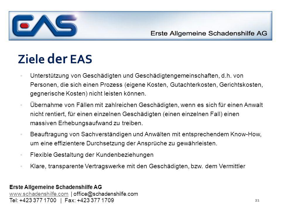 Ziele der EAS
