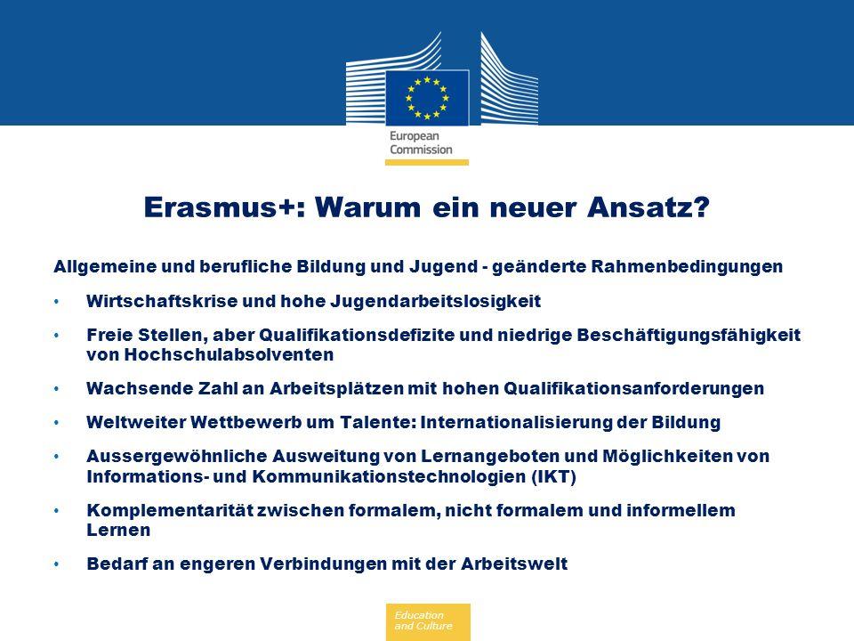 Erasmus+: Warum ein neuer Ansatz