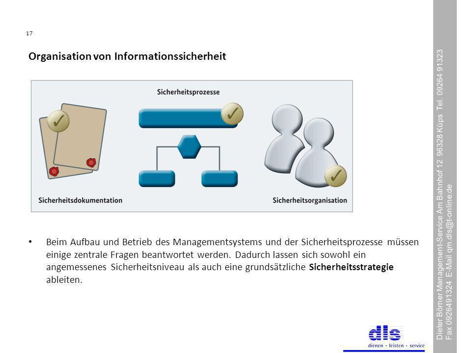 Organisation von Informationssicherheit