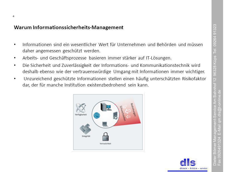 Warum Informationssicherheits-Management