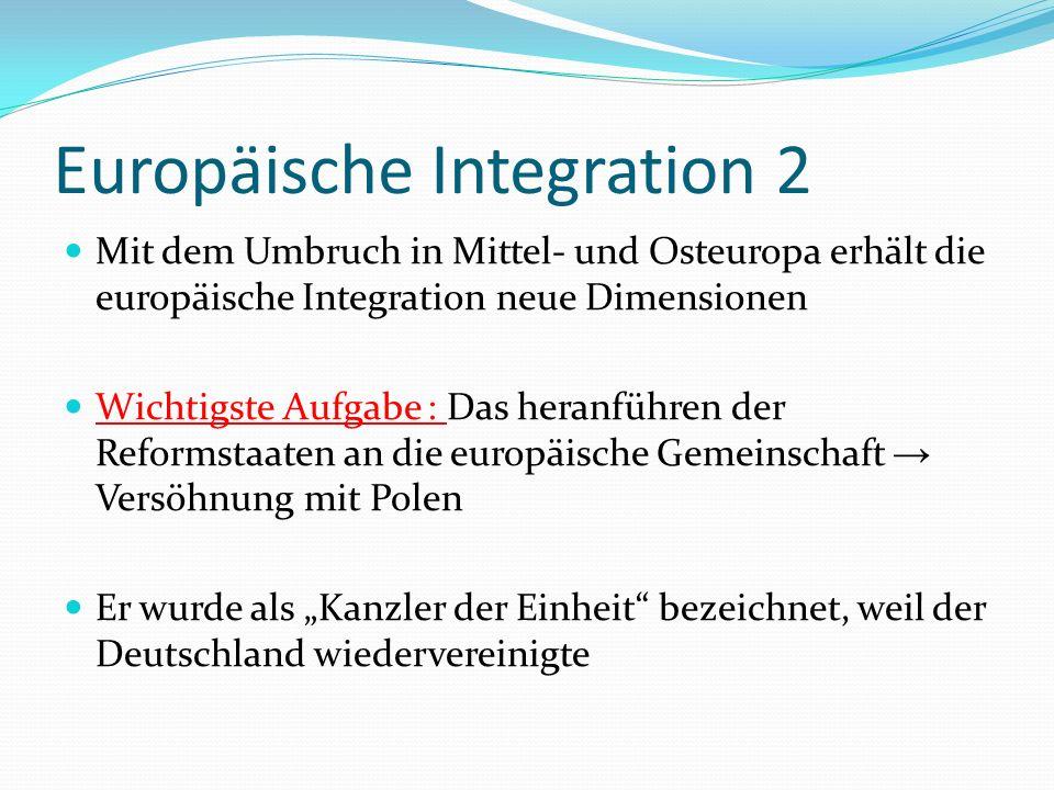 Europäische Integration 2