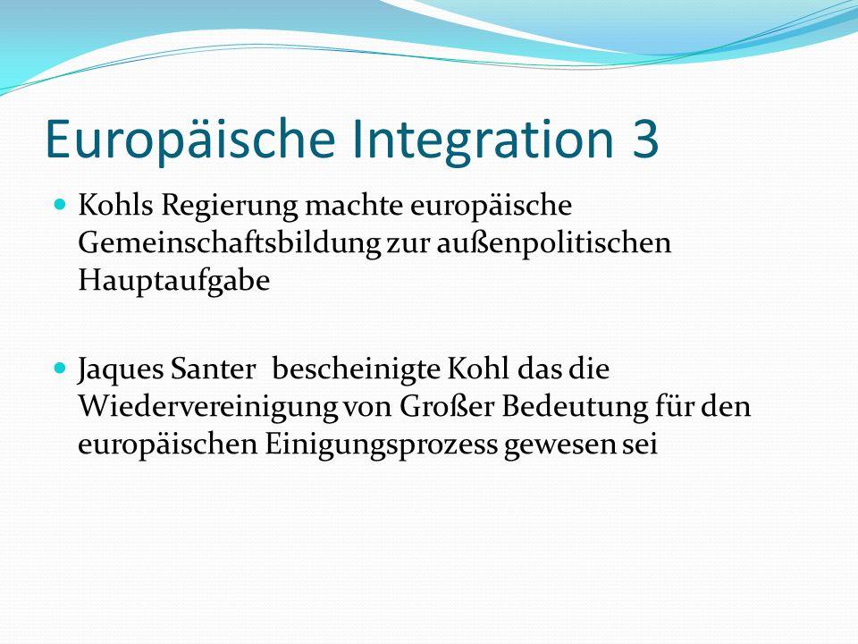 Europäische Integration 3