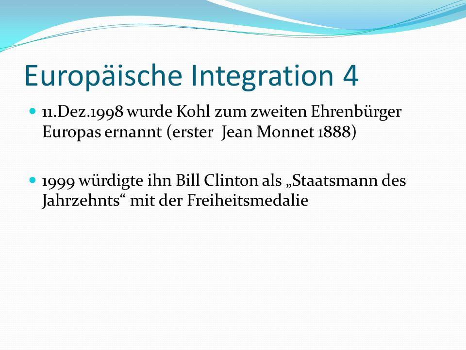 Europäische Integration 4