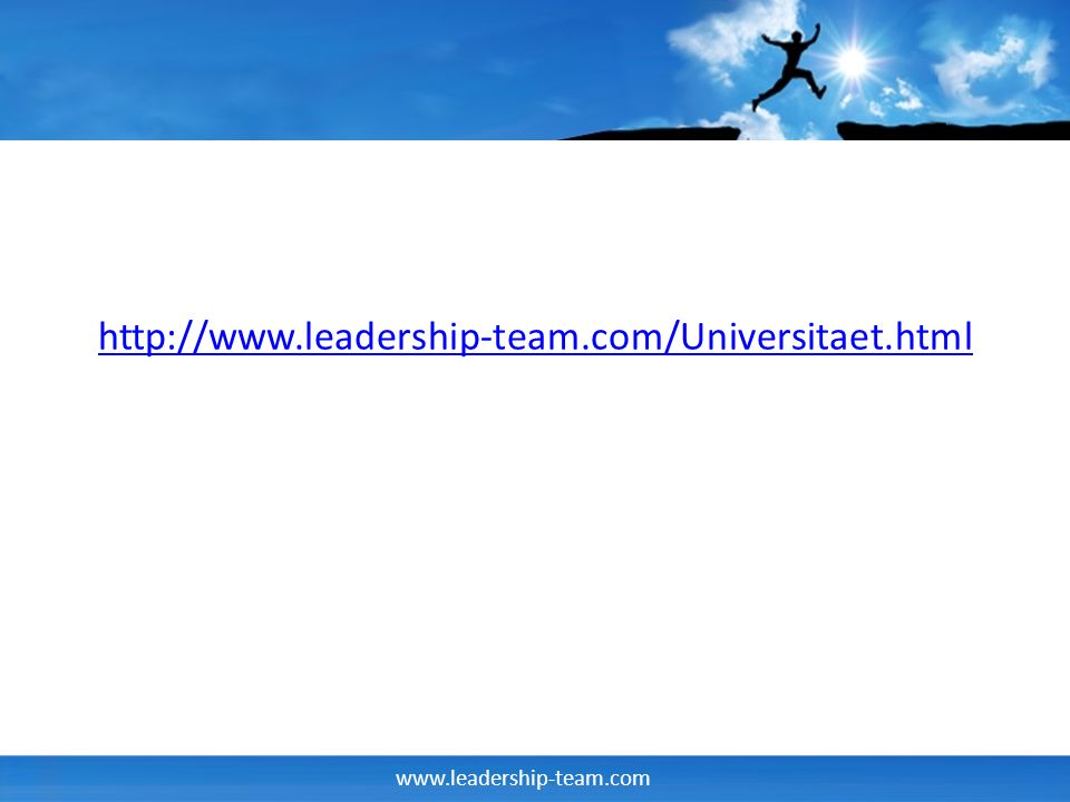 http://www.leadership-team.com/Universitaet.html