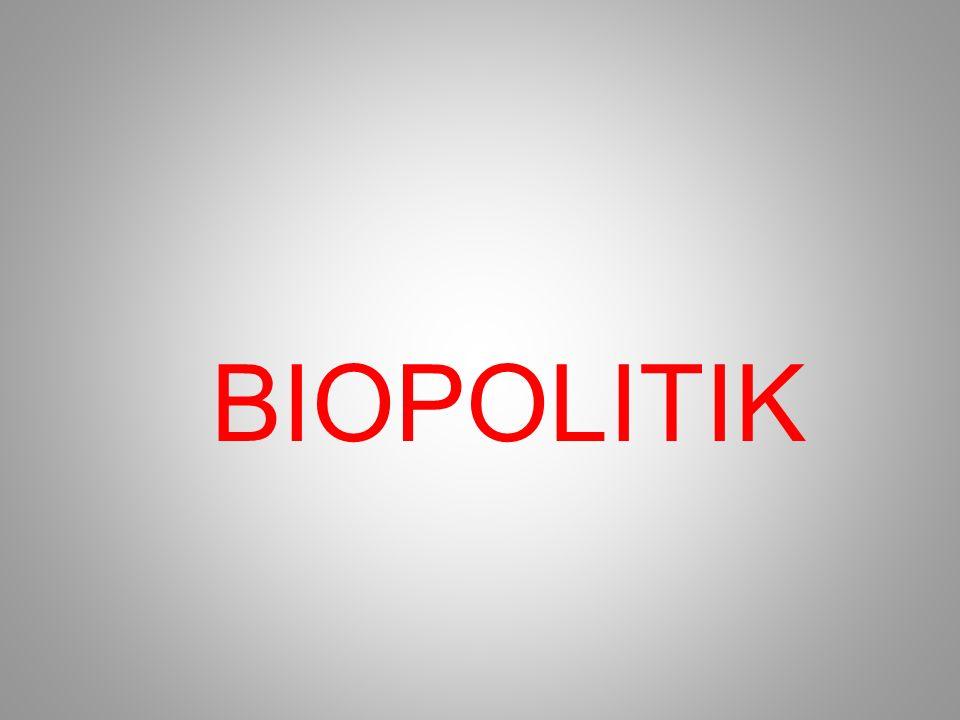 BIOPOLITIK