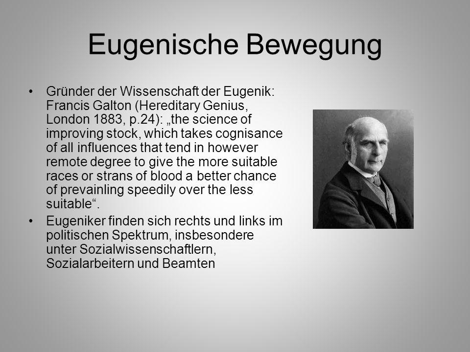 Eugenische Bewegung