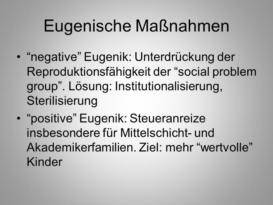 Eugenische Maßnahmen