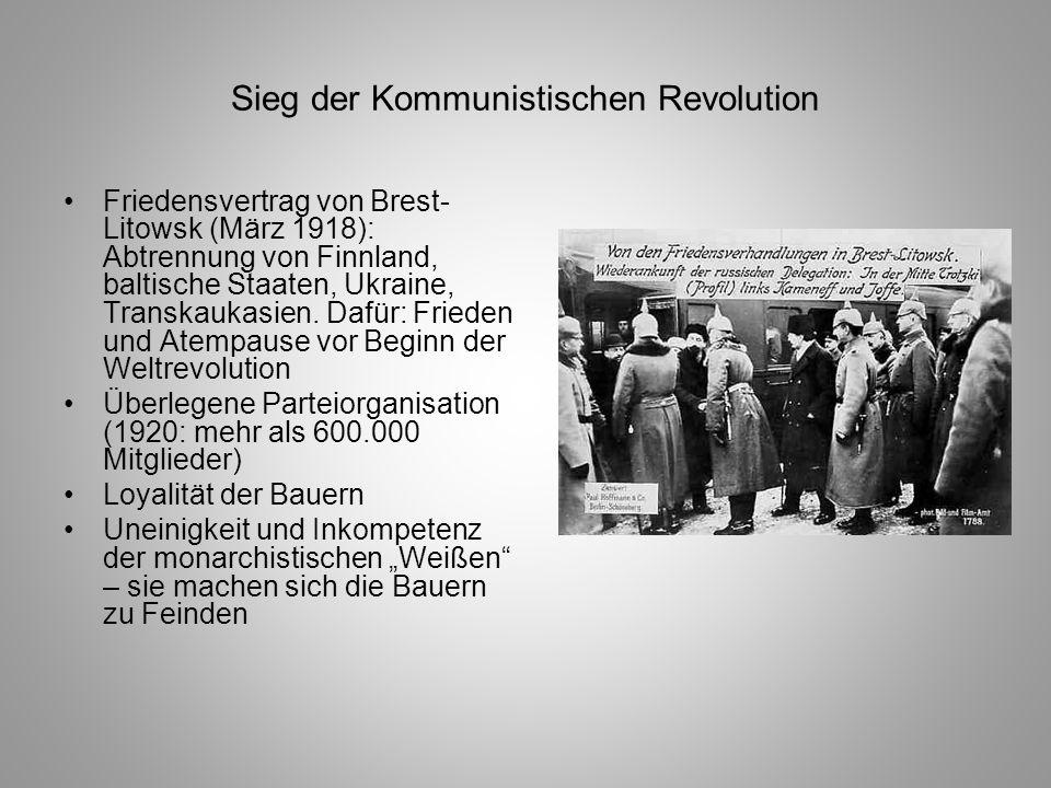 Sieg der Kommunistischen Revolution