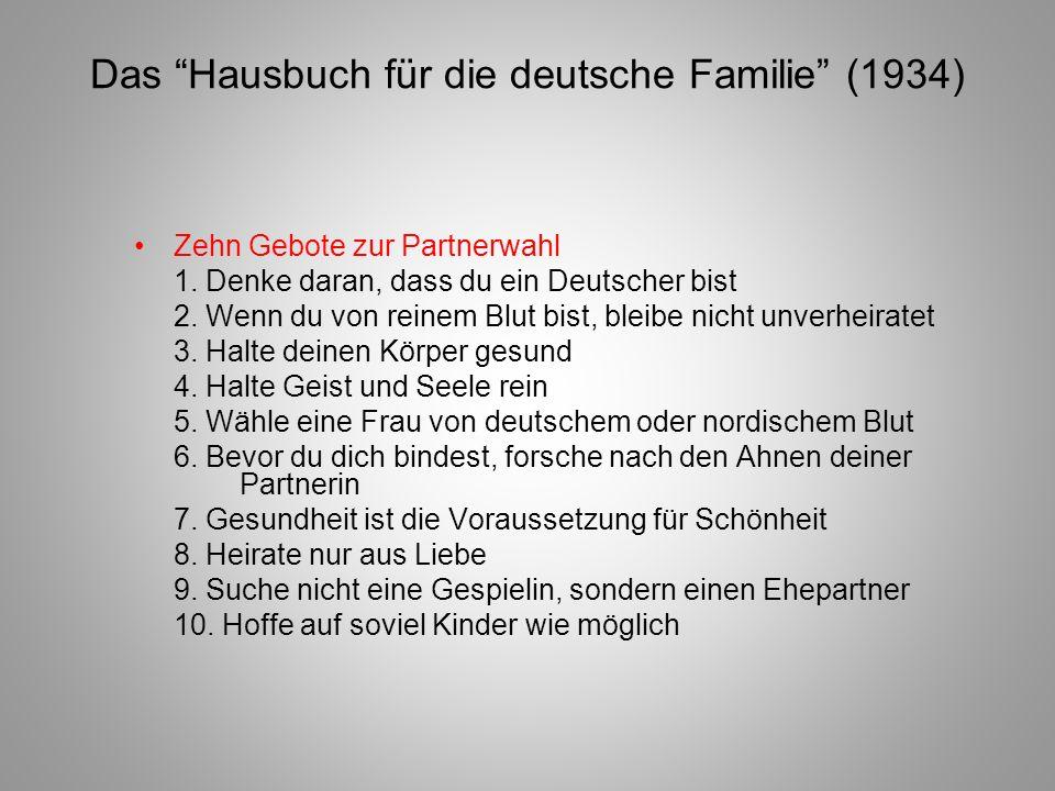 Das Hausbuch für die deutsche Familie (1934)