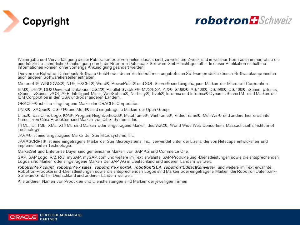 Robotron – Titel der Präsentation