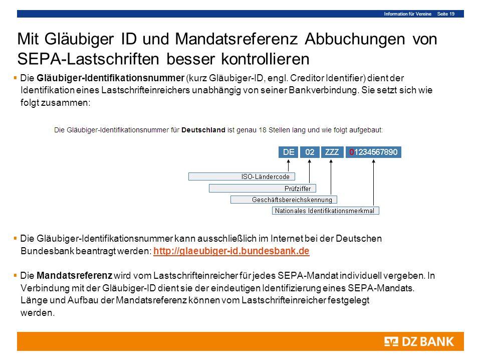 Mit Gläubiger ID und Mandatsreferenz Abbuchungen von SEPA-Lastschriften besser kontrollieren