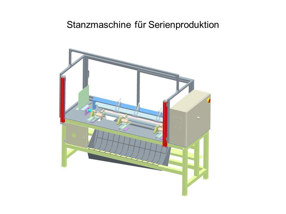 Stanzmaschine fűr Serienproduktion