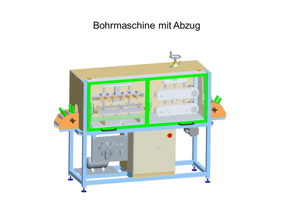 Bohrmaschine mit Abzug