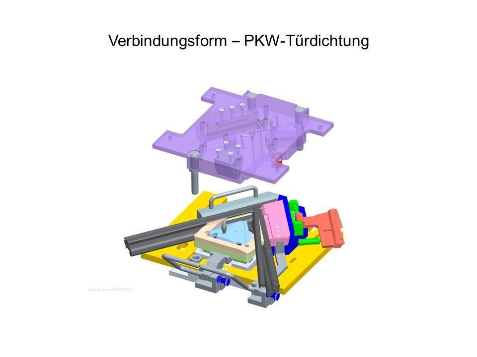 Verbindungsform – PKW-Tűrdichtung