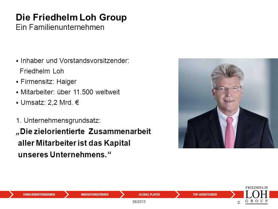 Die Friedhelm Loh Group Ein Familienunternehmen
