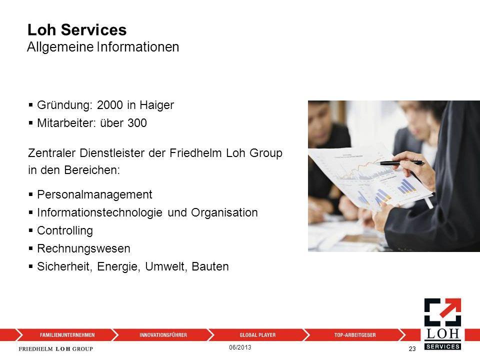 Loh Services Allgemeine Informationen