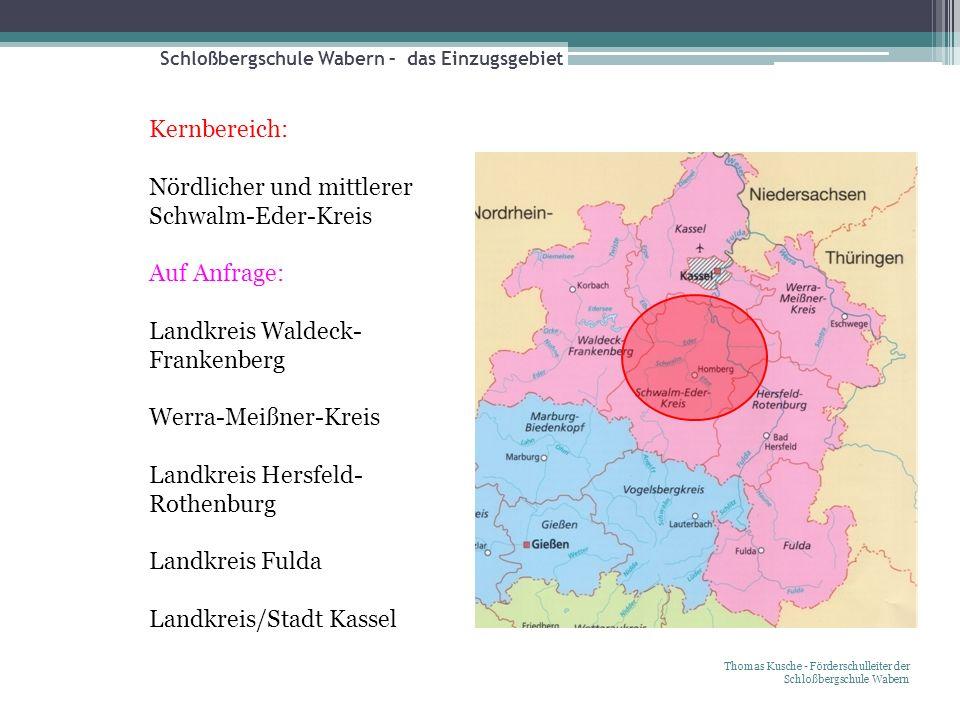 Schloßbergschule Wabern – das Einzugsgebiet