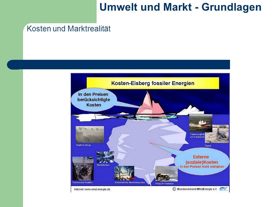 Umwelt und Markt - Grundlagen