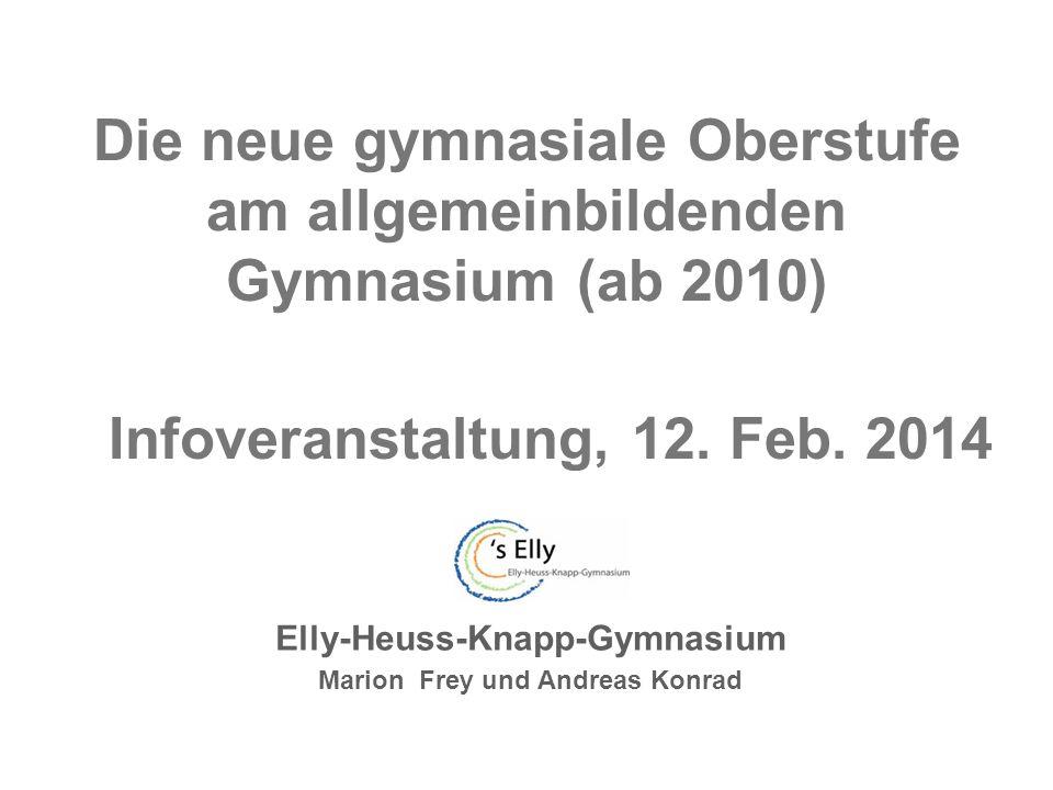 Elly-Heuss-Knapp-Gymnasium Marion Frey und Andreas Konrad