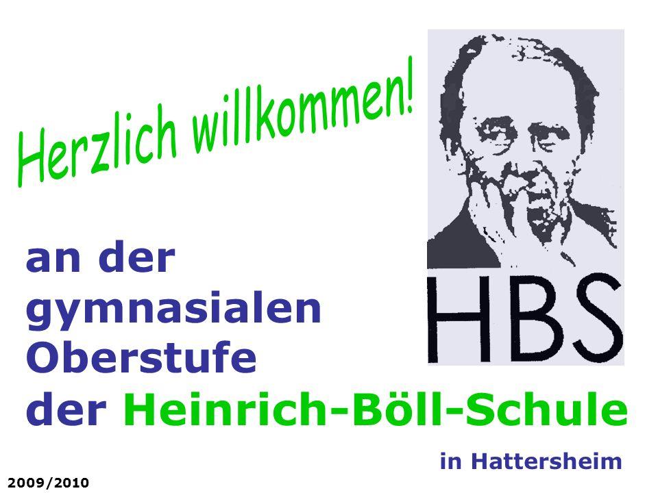 an der gymnasialen Oberstufe der Heinrich-Böll-Schule
