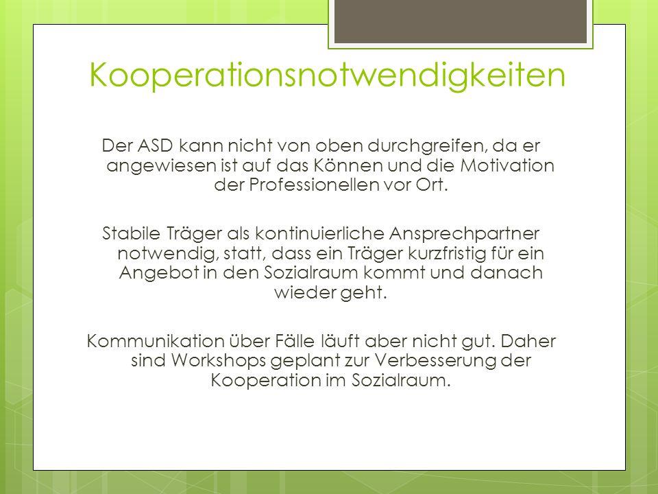 Kooperationsnotwendigkeiten