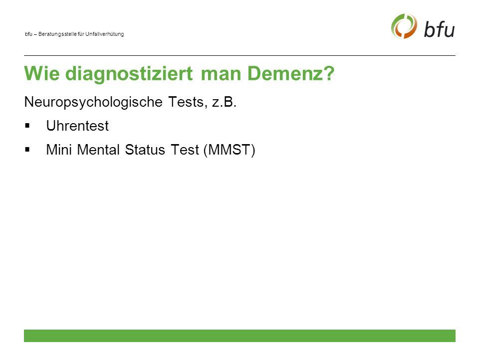 Wie diagnostiziert man Demenz