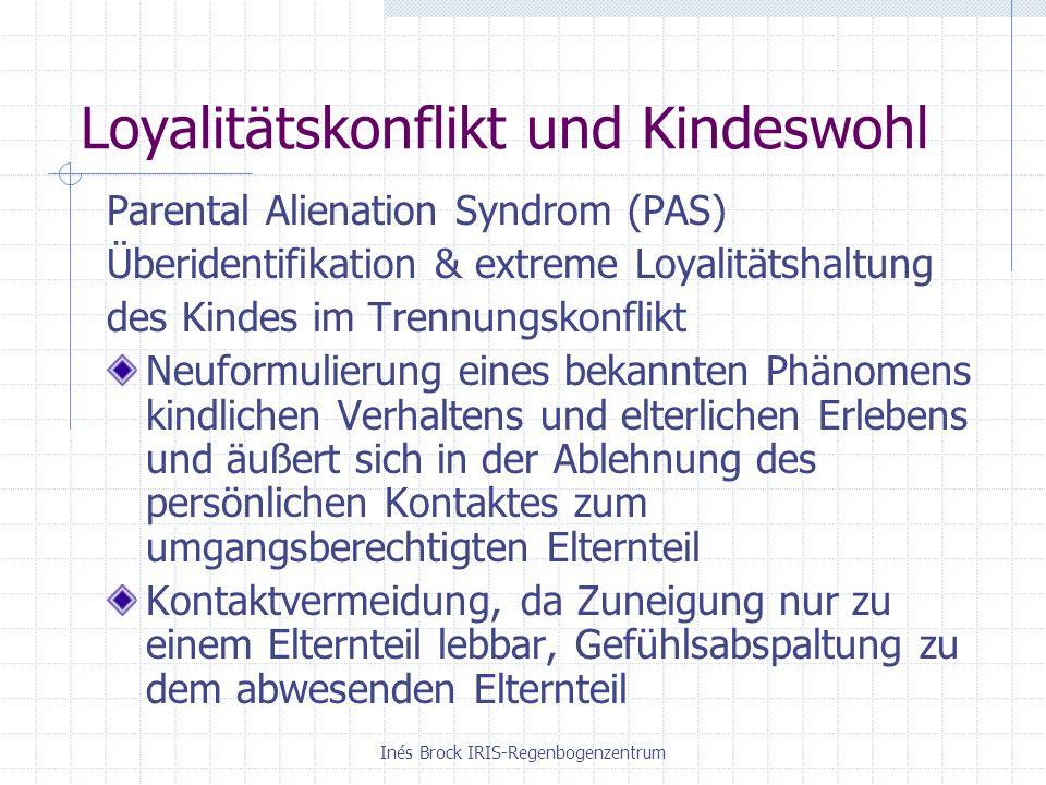 Loyalitätskonflikt und Kindeswohl