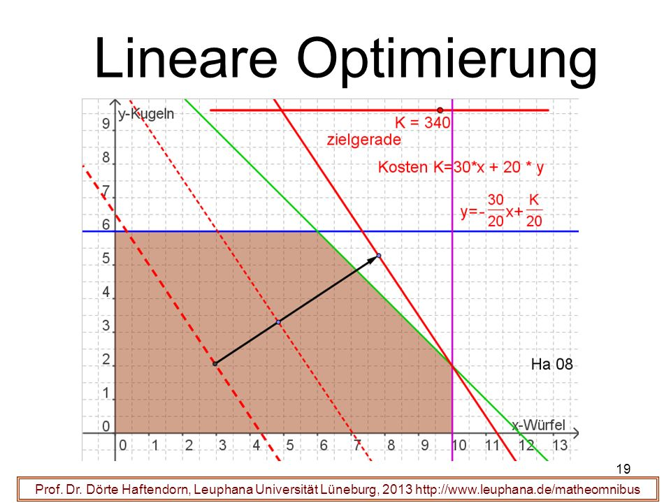 Lineare Optimierung Prof. Dr.