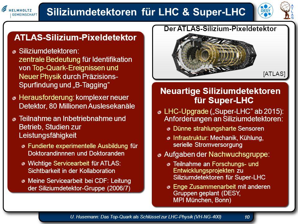 Siliziumdetektoren für LHC & Super-LHC