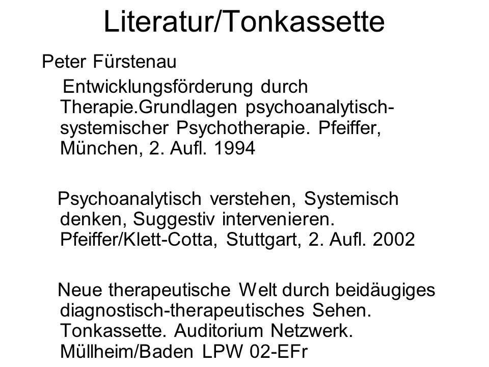Literatur/Tonkassette