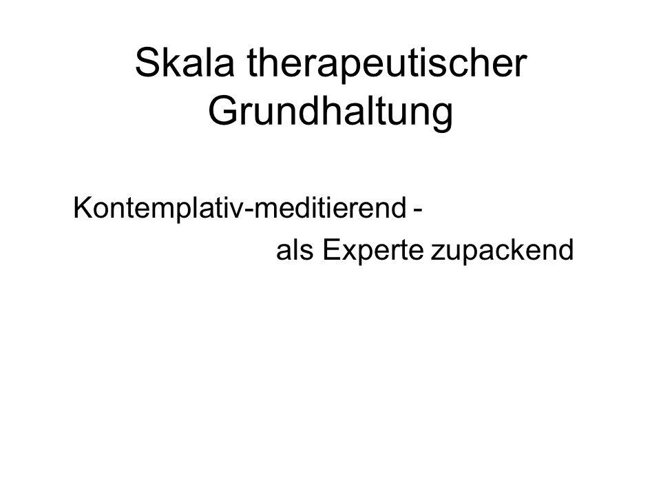 Skala therapeutischer Grundhaltung