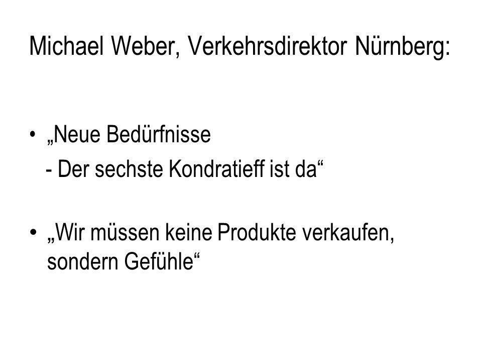 Michael Weber, Verkehrsdirektor Nürnberg: