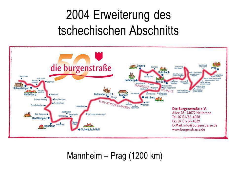 2004 Erweiterung des tschechischen Abschnitts