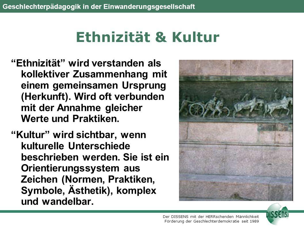 DISSENS e.V., Berlin Oktober 2007. Ethnizität & Kultur.