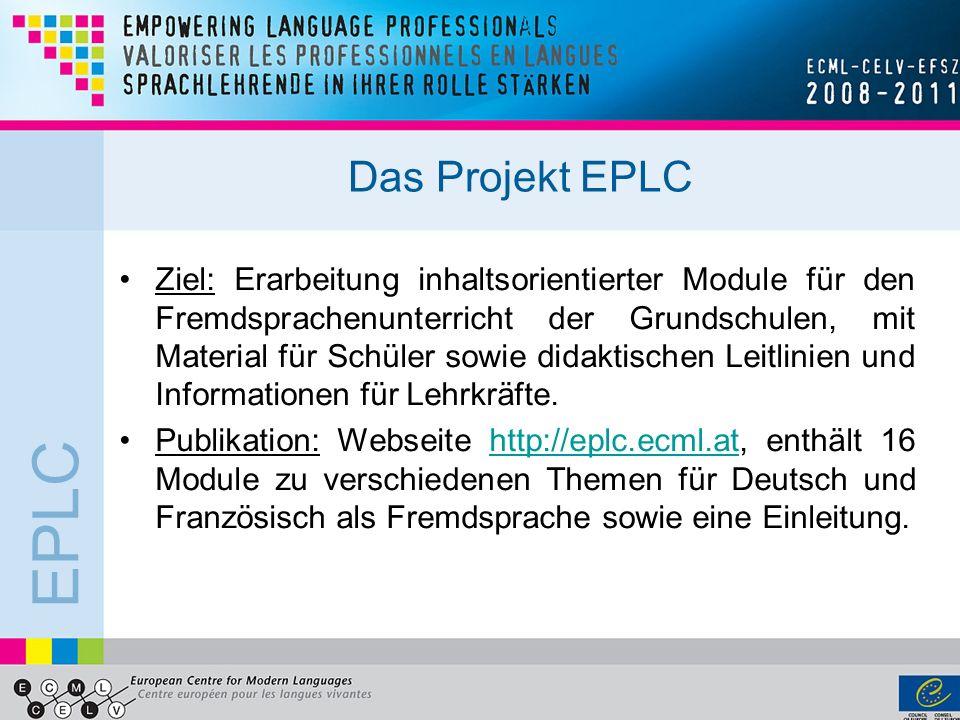 Das Projekt EPLC