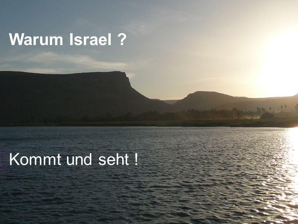 Warum Israel Kommt und seht !
