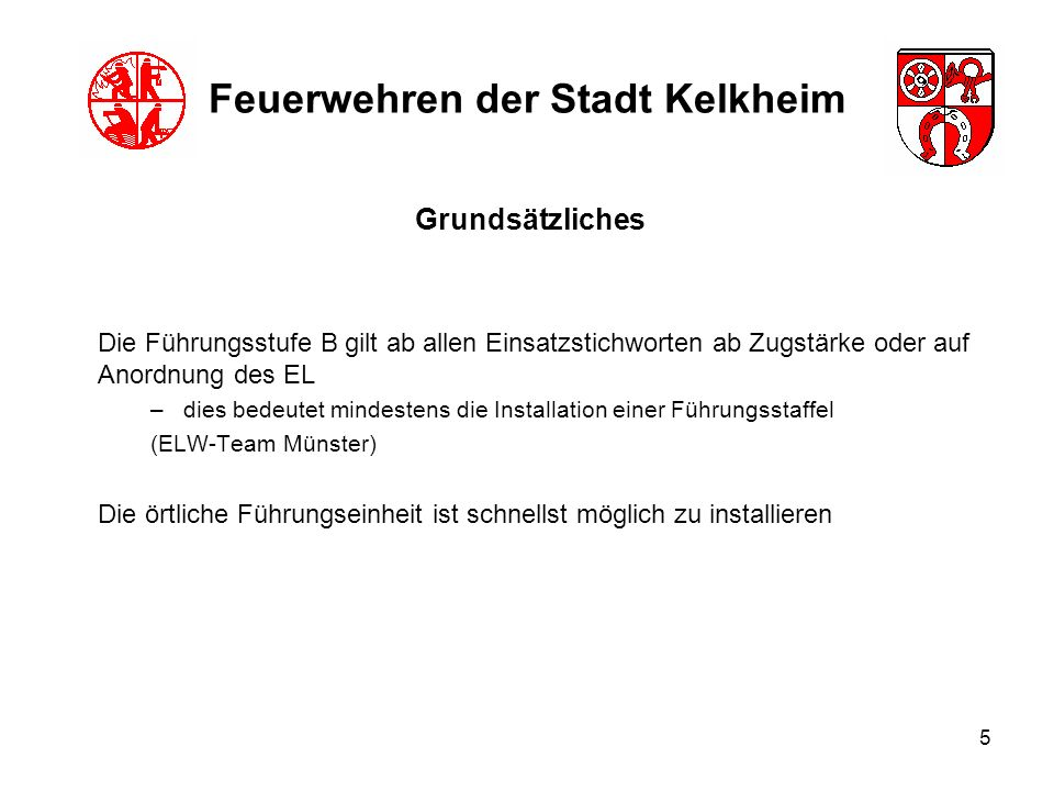 Feuerwehren der Stadt Kelkheim
