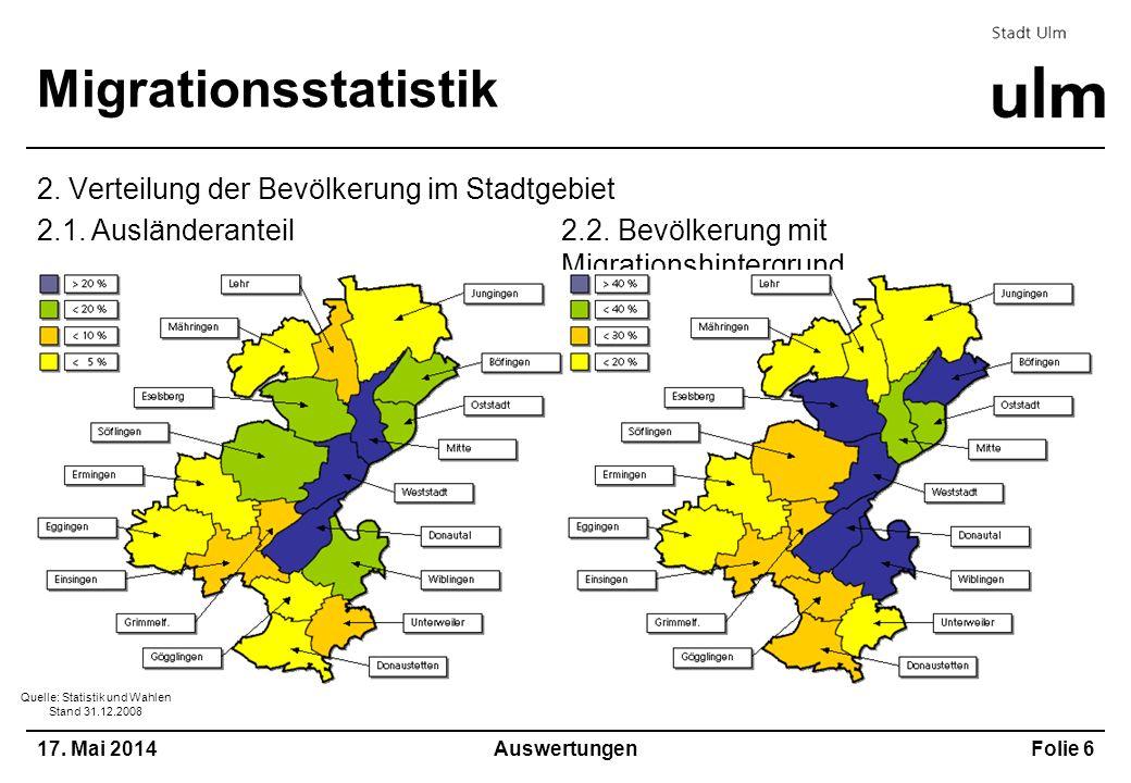 Quelle: Statistik und Wahlen