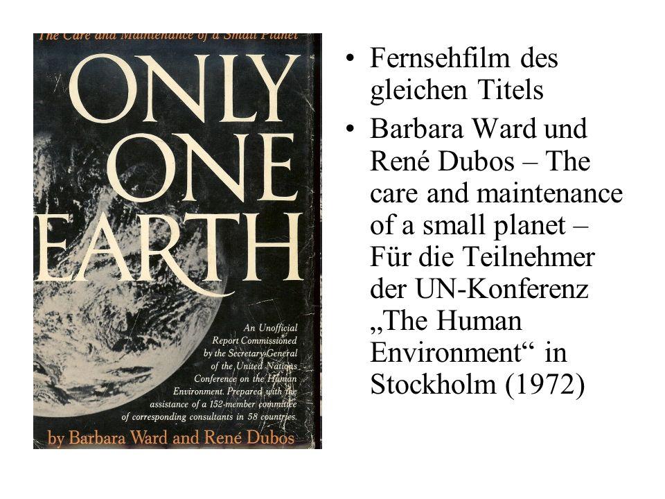 I.3 Only One Earth Fernsehfilm des gleichen Titels