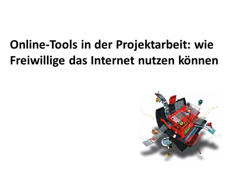 Online-Tools in der Projektarbeit: wie Freiwillige das Internet nutzen können