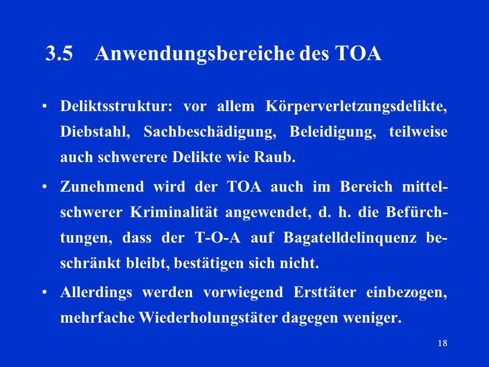 3.5 Anwendungsbereiche des TOA