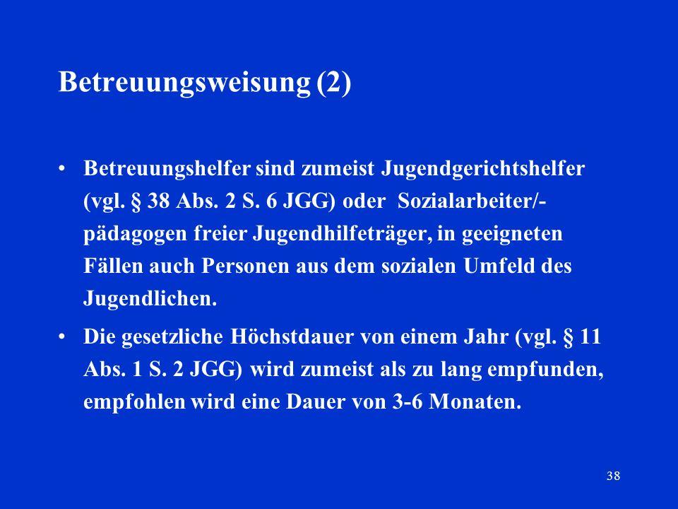 Betreuungsweisung (2)