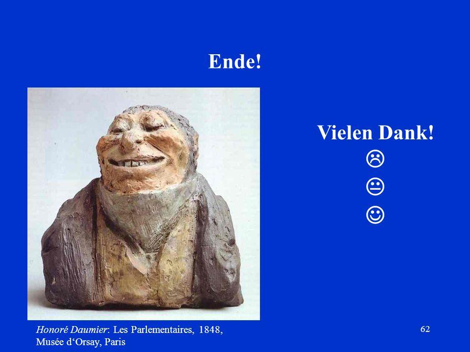    Ende! Vielen Dank! Honoré Daumier: Les Parlementaires, 1848,