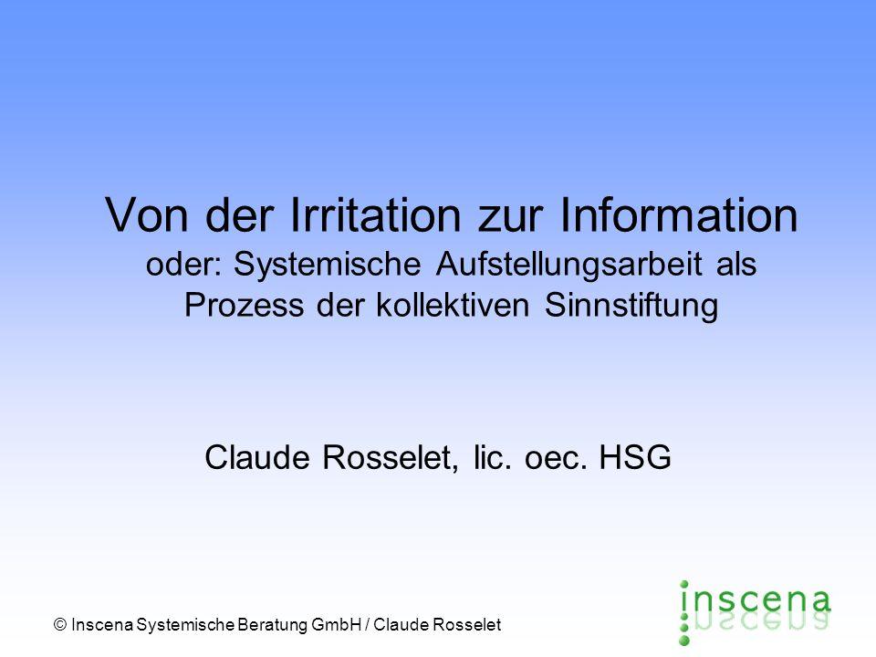Claude Rosselet, lic. oec. HSG