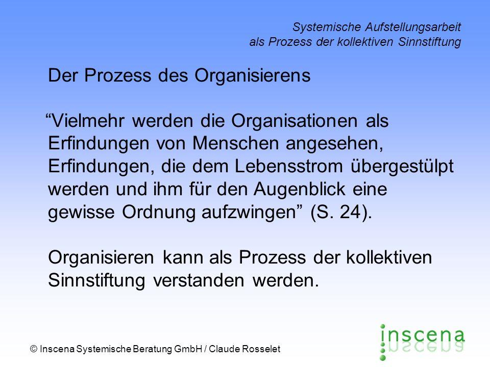 Der Prozess des Organisierens