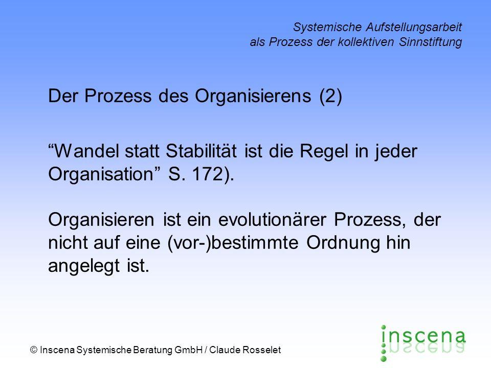 Der Prozess des Organisierens (2)