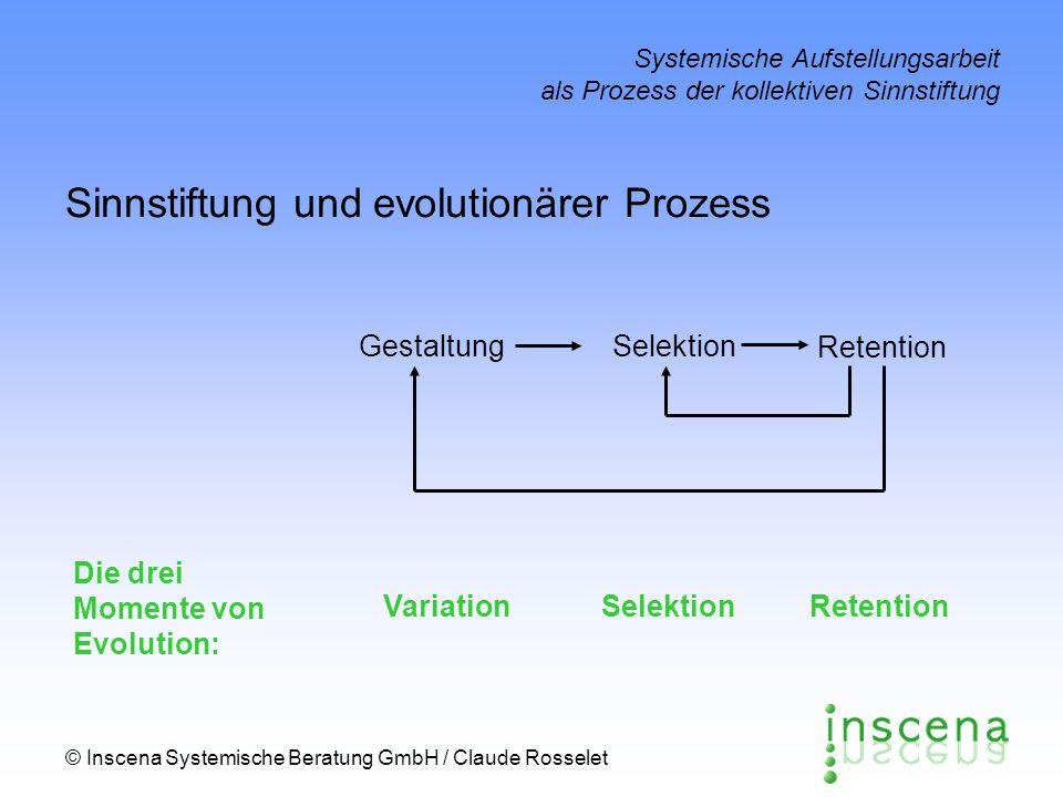 Sinnstiftung und evolutionärer Prozess