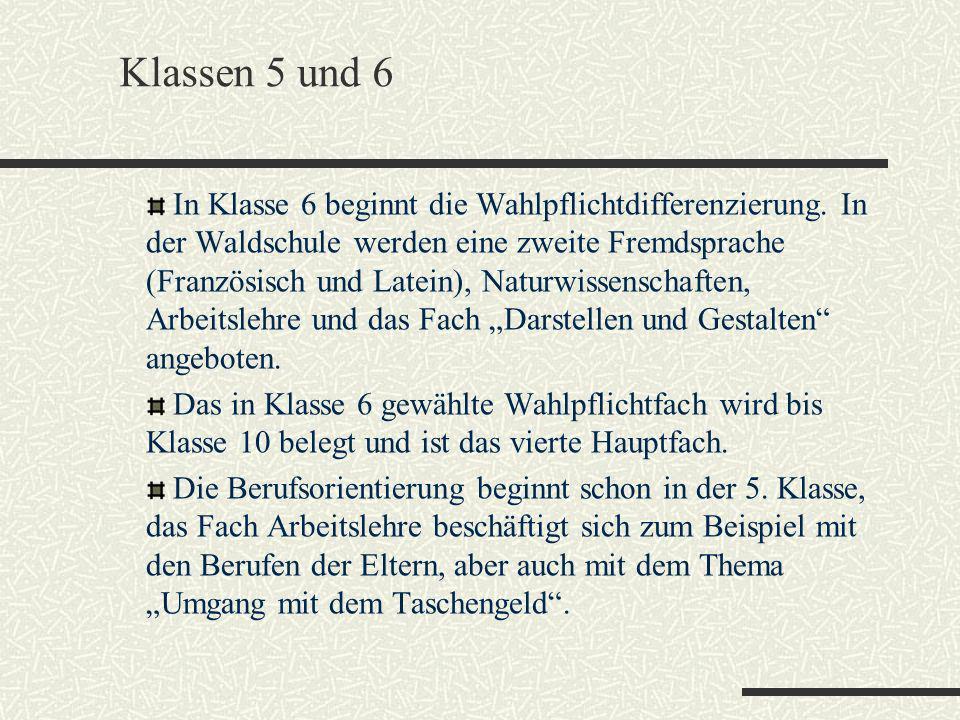Klassen 5 und 6