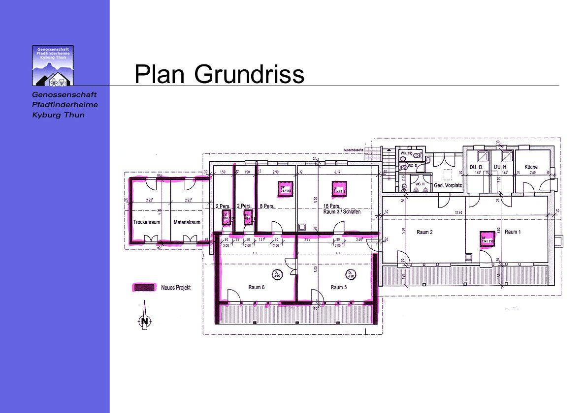 Plan Grundriss