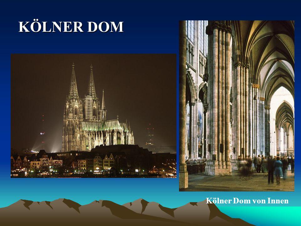 KÖLNER DOM Kölner Dom von Innen